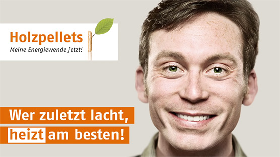 Holzpellets Slogan